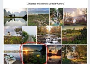 Landscape iPhone Photo Contest Winner