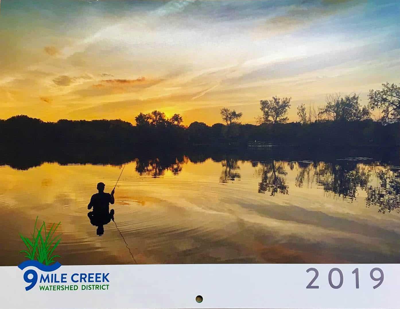 2019 Nine Mile Creek Cover Calendar Winner!